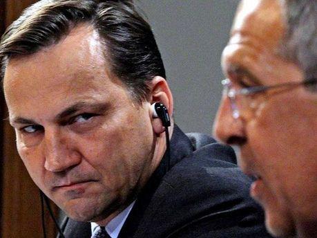 Глава МИД Польши Радослав Сикорский