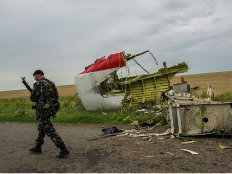 Терористи на місці падіння Boeing 777