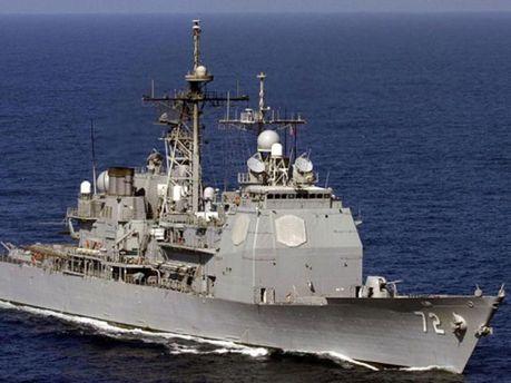 Американский крейсер Vella Gulf
