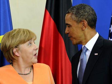 Барак Обама та Ангела Меркель