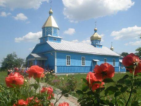 Церковь в селе Солонев