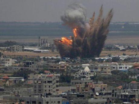 Обстрел сектора Газа
