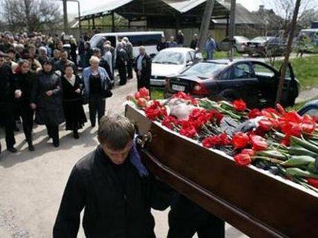 Похороны депутата Владимира Рыбака