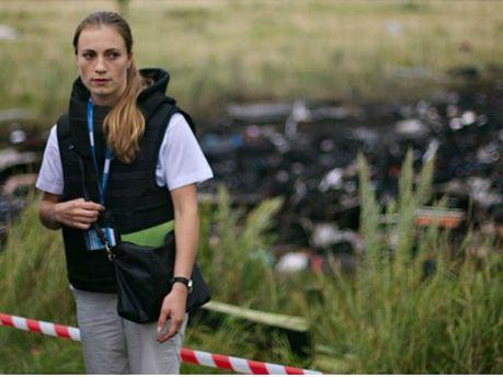 Наблюдатели ОБСЕ на месте падения Boeing 777