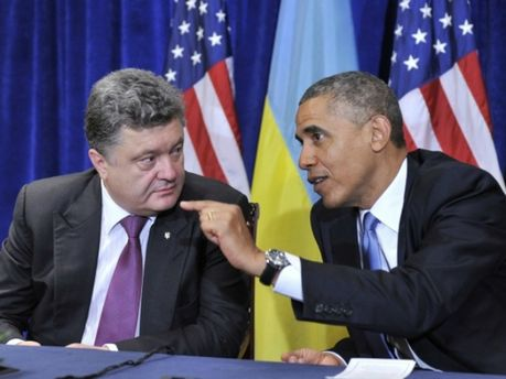 Петро Порошенко та Барак Обама