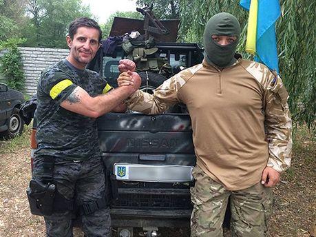Семен Семенченко и Зорян Шкиряк