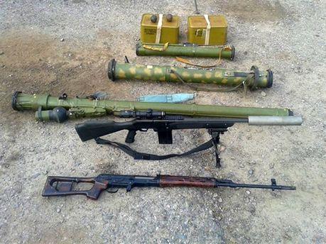 Знайдена російська зброя