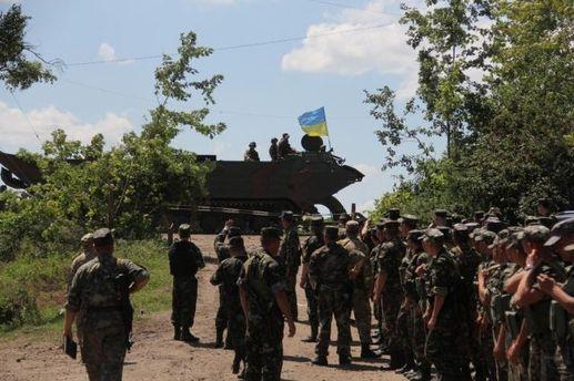Украинские бойцы