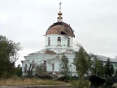 Храм у Новосвітлівці
