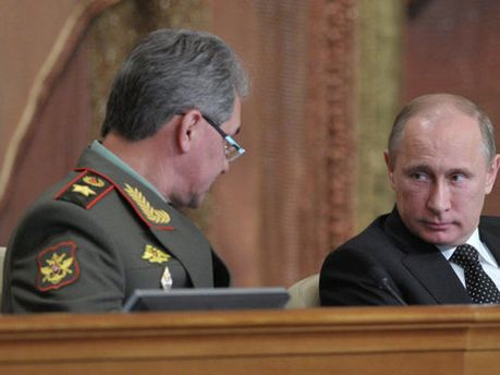 Путин на коллегии Минобороны РФ