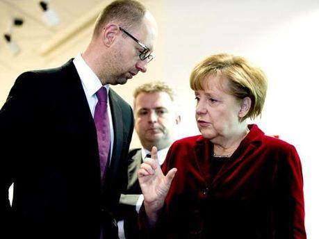 Яценюк та Меркель