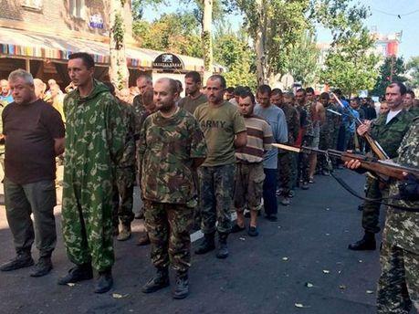 Українські військовополонені