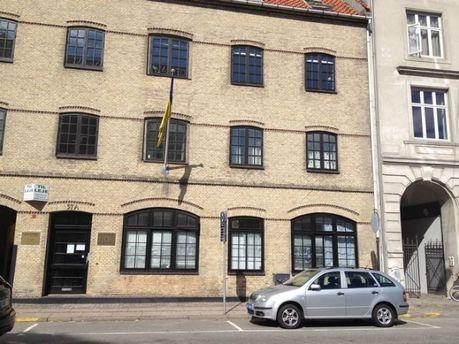 Напали на посольство Украины в Копенгагене