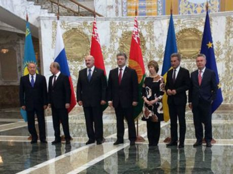 Трехсторонняя встреча в Минске