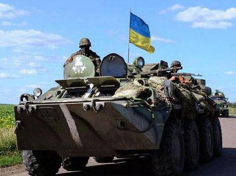 Украинские силы