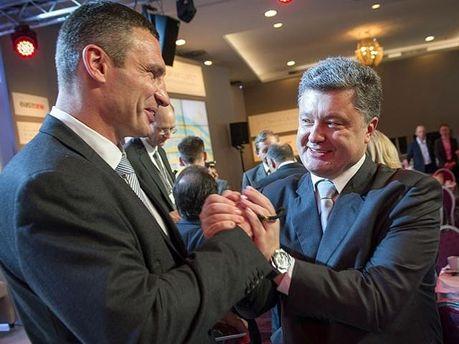 Кличко і Порошенко