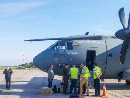 Гуманитарная помощь с Литвы