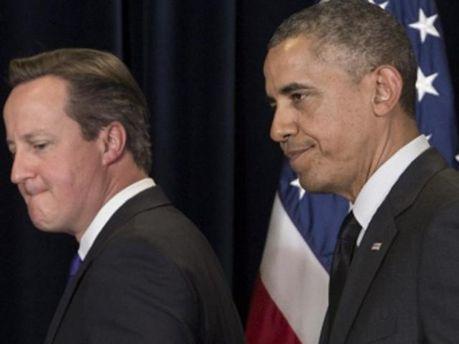Девид Кэмерон и Барак Обама