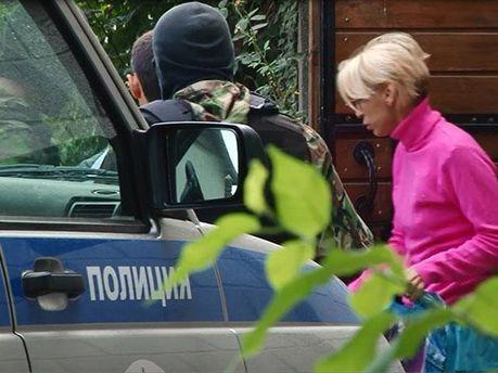 Обыск в доме Лизы Богуцкой
