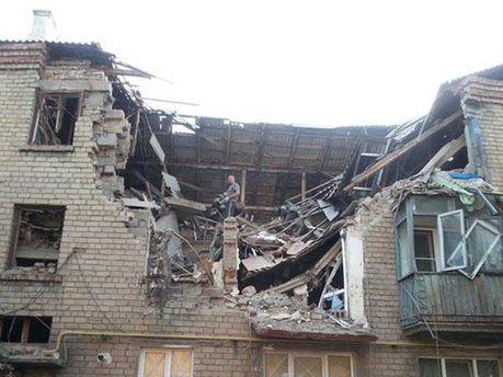 Руйнування в Макіївці