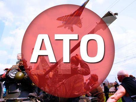 За ночь террористы трижды обстреляли позиции сил АТО возле аэропорта в Донецке