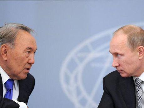 Назарбаєв та Путін