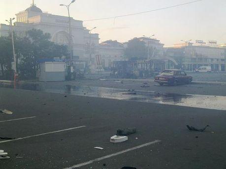 Наслідки обстрілів Донецька