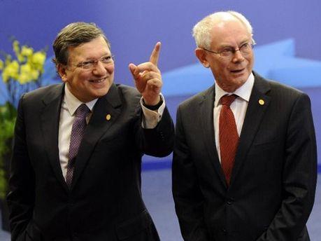 Баррозу и Ван Ромпей