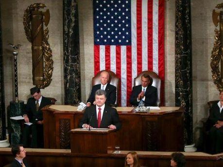 Порошенко в Конгрессе