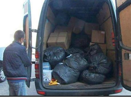 Благодійники Литви та Латвії передали 5 тонн гуманітарної допомоги учасникам АТО