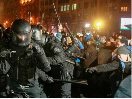 Противостояния на Майдане