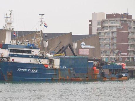 Литовское судно Jūros Vilkas