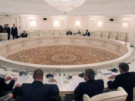 Заседание контактной группы