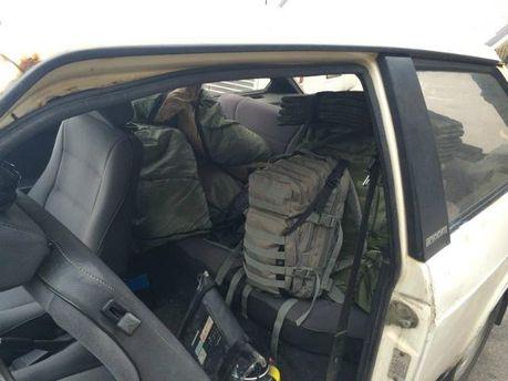 Пограничники задержали россиянина, который хотел присоединиться к силам АТО (Фото)