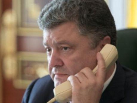 Порошенко провел телефонный разговор с Бейнером