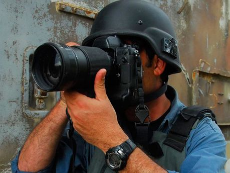 Журналист в зоне боевых действий