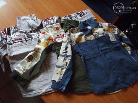Одежда для детей беженцев