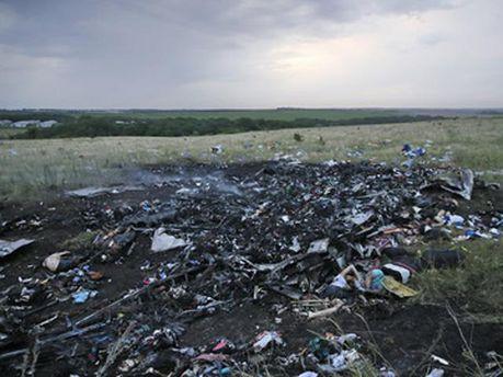 Авиакатастрофа Boeing-777