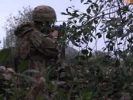 """Батальйон """"Київська Русь"""" 5-ий день відбиває атаки бойовиків під Нікішиним"""