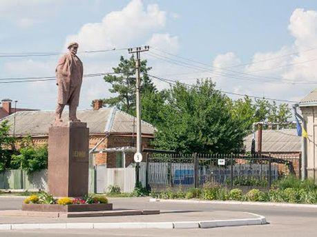 Ленин в Дергачах