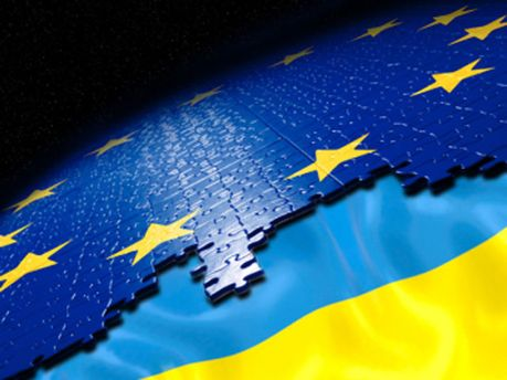 Символика Украины и ЕС