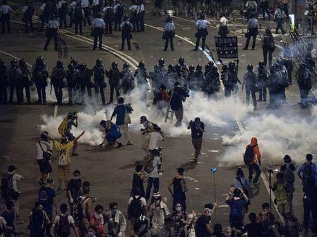 Протести у Гонконгу