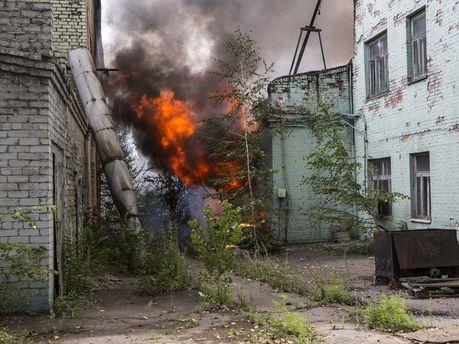 Пожежа в Донецьку