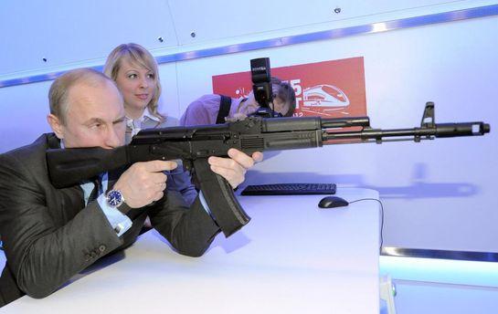 Путін  тестує новий АК