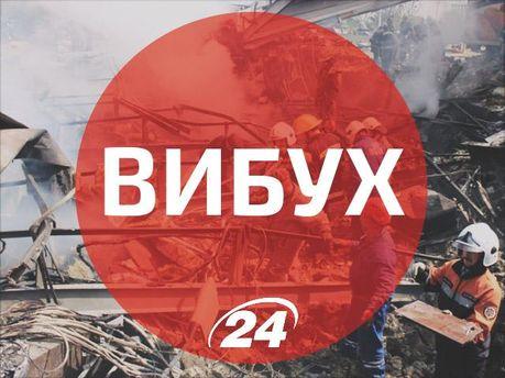 Граната вибухнула біля райвідділу на Запоріжжі. Постраждали 3 правоохоронців