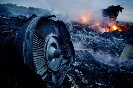 Место трагедии Boeing-777