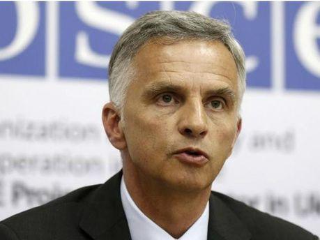 """Глава ОБСЕ приветствовал заявления о """"Дне тишины"""" на Донбассе"""