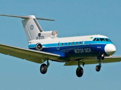 Літак авіакомпанії