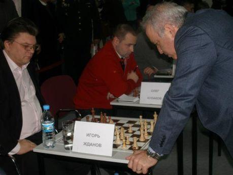 Гарри Каспаров и Игорь Жданов