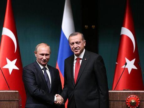 Президенты России и Турции